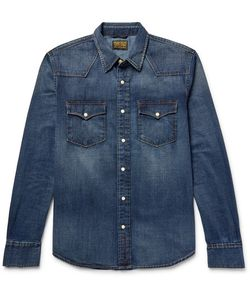 JEAN SHOP | Garth Lim-Fit Denim Wetern Hirt