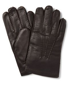 DENTS | Haftebury Touchcreen Cahmere-Lined Leather Glove