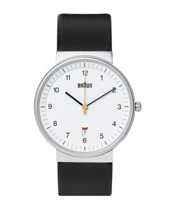 Braun | Bn0032 Stainless Steel And Leather Watch