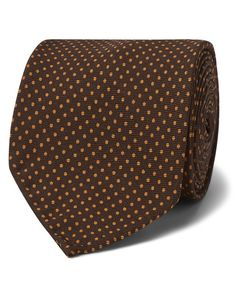 RUBINACCI | 8cm Polka-Dot Silk Tie
