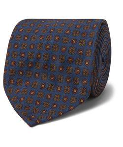 RUBINACCI | 8cm Printed Silk-Twill Tie