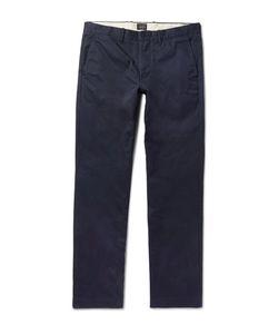 J.Crew | 770 Broken-In Slim-Fit Cotton-Twill Chinos