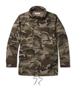 NONNATIVE   Tropper Camouflage-Print Gore Windstopperreg Cotton-Canvas Jacket
