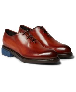 BERLUTI | Blake Whole-Cut Polished-Leather Oxford Shoes