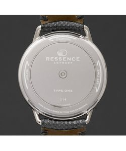 Ressence | Type 1 Ch Titanium And Leather Watch