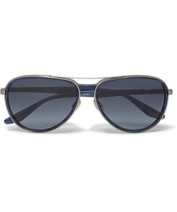 BARTON PERREIRA | Gazarri Aviator-Style Acetate And Tone Sunglasses