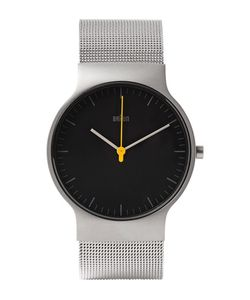 Braun | Bn0211 Classic Slim Stainless Steel Mesh Watch