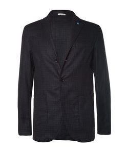 Eidos | Augusto Slim-Fit Unstructured Silk And Wool-Blend Blazer