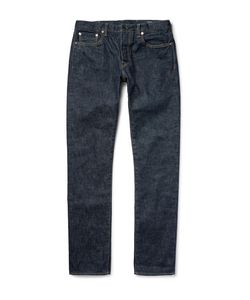 The Workers Club | Slim-Fit Rinsed Selvedge Denim Jeans