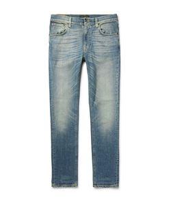 Nudie Jeans Co | Lean Dean Slim-Fit Organic Stretch-Denim Jeans