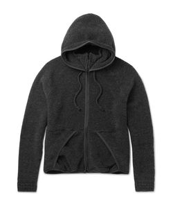 Beams | Wool-Blend Fleece Zip-Up Hoodie