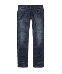 Fabric-Brand & Co | Slim-Fit Selvedge Denim Jeans