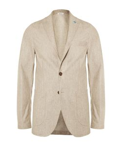 Eidos | Augusto Unstructured Wool Silk And Linen-Blend Blazer