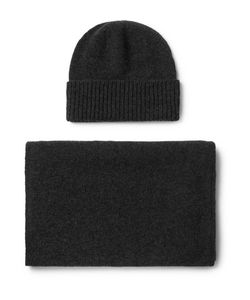 William Lockie | Cashmere Hat And Scarf Set