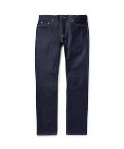 JEAN SHOP | Mick Slim-Fit Raw Selvedge Denim Jeans