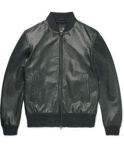 Dunhill | Leather Bomber Jacket
