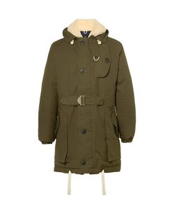 Nigel Cabourn | Antarctic Shearling-Lined Cotton-Canvas Down Parka