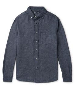 ALEX MILL | Slim-Fit Button-Down Brushed-Cotton Shirt