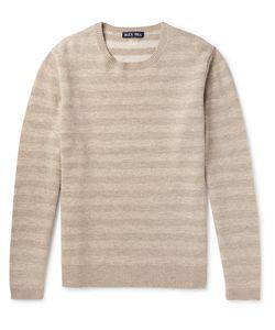 ALEX MILL | Striped Merino Wool Sweater