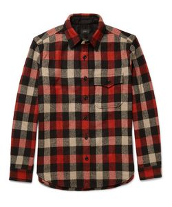 J.Crew | Plaid Wool-Blend Overshirt