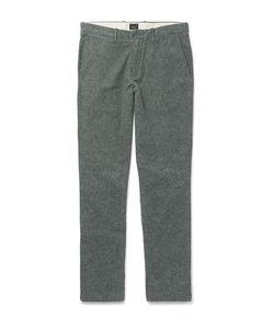 J.Crew | Brushed Cotton-Twill Chinos