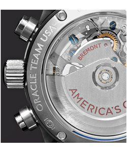Bremont | Oracle Team Usa Regatta Titanium And Rubber Chronograph Watch