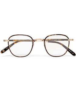 Garrett Leight California Optical | Grant Square-Frame Acetate And Tone Optical Glasses