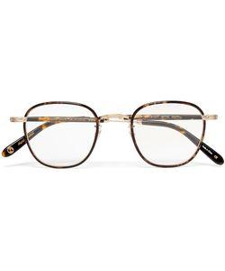 Garrett Leight California Optical | Grant Square-Frame Acetate And Tone Optical Glasses