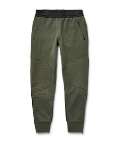 Under Armour Sportswear | Pivot Lim-Fit Tapered Hell-Panelled Jerey Weatpant