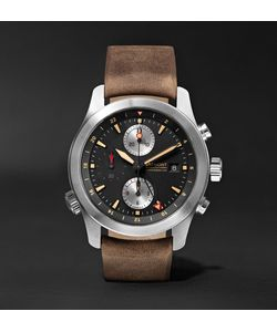 Bremont | Alt1-Zt/51 Stainless Steel And Leather Chronograph Watch