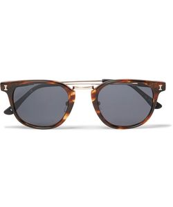ILLESTEVA | Tribeca Ii D-Frame Acetate And Tone Sunglasses