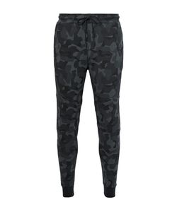 Nike | Tapered Camouflage-Print Cotton-Blend Tech Fleece Weatpant