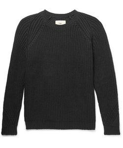 Folk | Ribbed Stretch-Cotton Sweater
