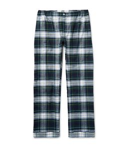 Sleepy Jones | Marcel Checked Cotton-Flannel Pyjama Trouer