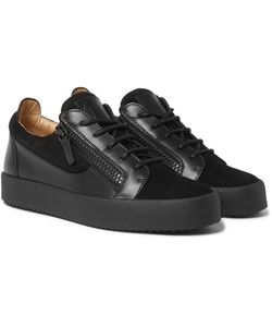 Giuseppe Zanotti Design | Leather And Suede Sneakers