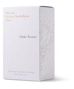 Maison Francis Kurkdjian   Globe Trotter Zinc Edition Travel Spray Case