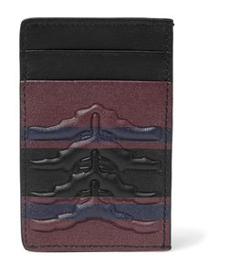 Alexander McQueen | Ribcage-Embossed Leather Cardholder