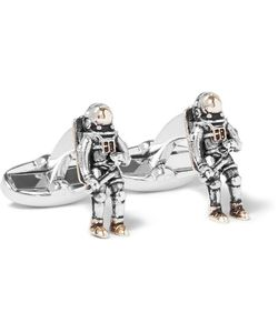 Paul Smith | Spaceman And Tone Cufflinks