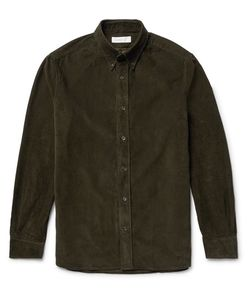 Several | Watts Button-Down Collar Cotton-Corduroy Shirt