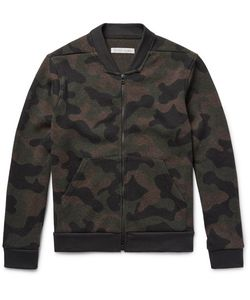 OUTERKNOWN | Cacade Camouflage Wool-Blend Bomber Jacket