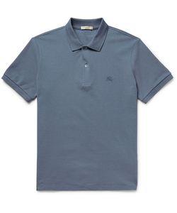 Burberry | Brit Slim-Fit Cotton-Piqué Polo Shirt