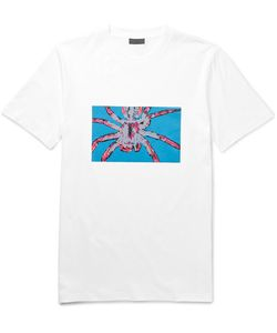 Lanvin | Spider-Print Cotton-Jersey T-Shirt