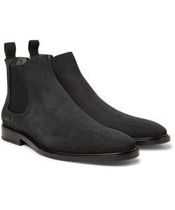 Lanvin | Nubuck Chelsea Boots