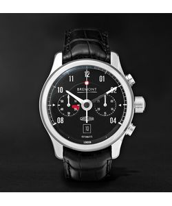 Bremont | Mkii Jaguar Stainless Steel And Alligator Watch