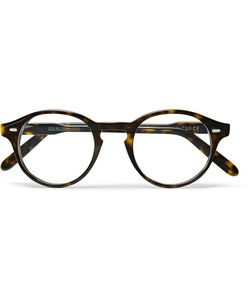 CUTLER & GROSS | Round-Frame Acetate Optical Glasses