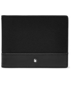 Mont Blanc | Nightflight Leather And Nylon Billfold Wallet