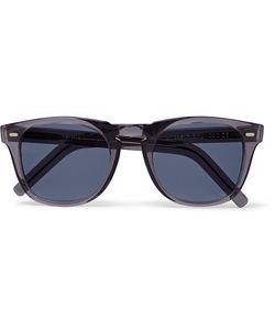 CUTLER & GROSS   D-Frame Acetate Sunglasses