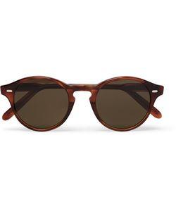 CUTLER & GROSS   Round-Frame Acetate Sunglasses