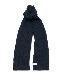 Oliver Spencer | Cable-Knit Wool-Blend Scarf
