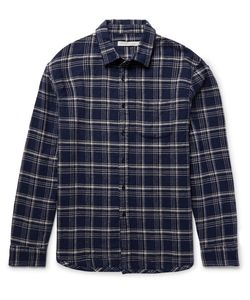OUTERKNOWN | Eugene Checked Organic Cotton-Flannel Hirt